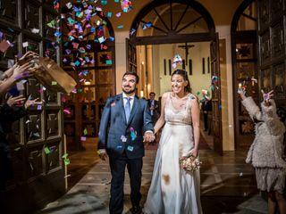 El matrimonio de Rosario y Andrés