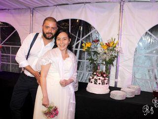 El matrimonio de Evandry  y Ricardo