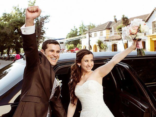 El matrimonio de Carolina y Raul