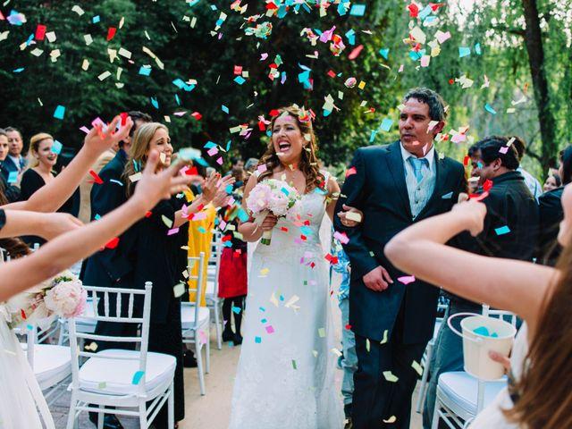 El matrimonio de Rosario y Esteban