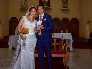 El matrimonio de Anyela y Ricardo