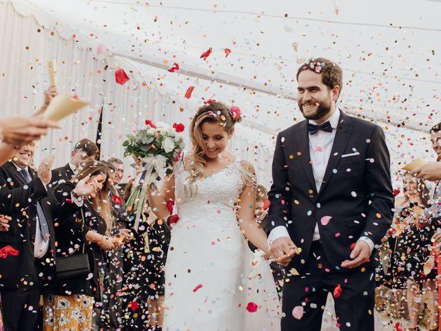 El matrimonio de Vane y Bernardo