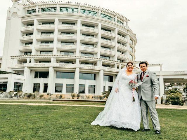 El matrimonio de Christian y Rosa