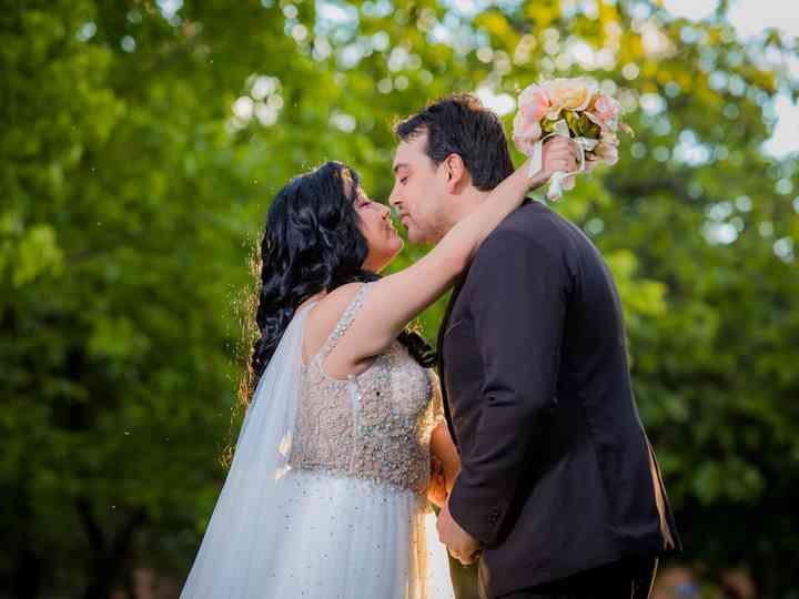 El matrimonio de Naftaly y Roberto