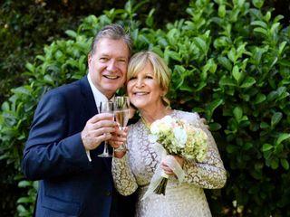 El matrimonio de María Eugenia y Mike