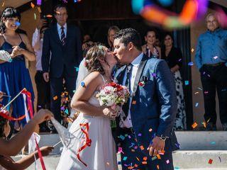 El matrimonio de Paula y Claudio 1