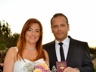 El matrimonio de Irache y Nicolas