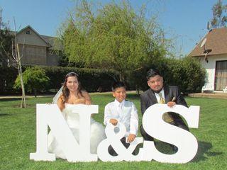 El matrimonio de Nicole y Sergio