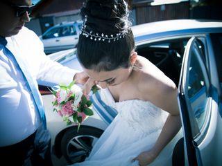 El matrimonio de Elizabet  y Gian Paul 1