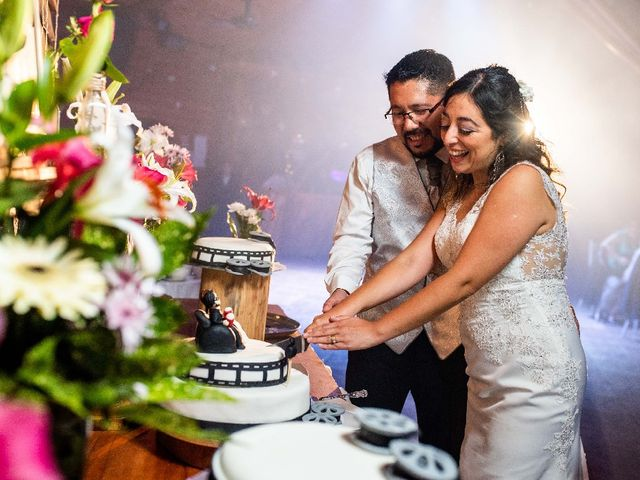El matrimonio de Denise y Mariel