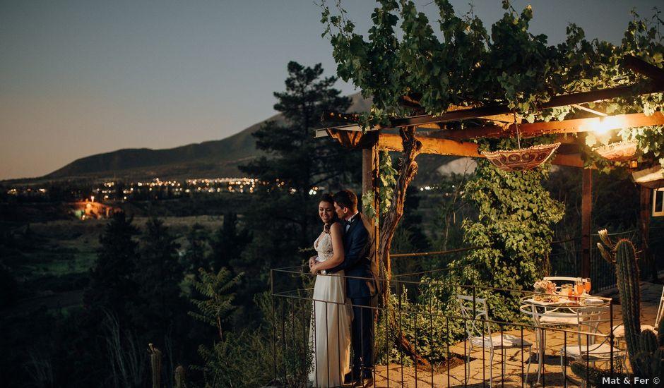El matrimonio de Eduardo y Daniela en Pirque, Cordillera