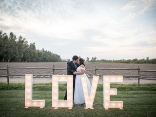El matrimonio de Geraldine y Christian 1