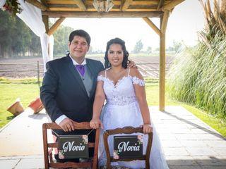 El matrimonio de Geraldine y Christian
