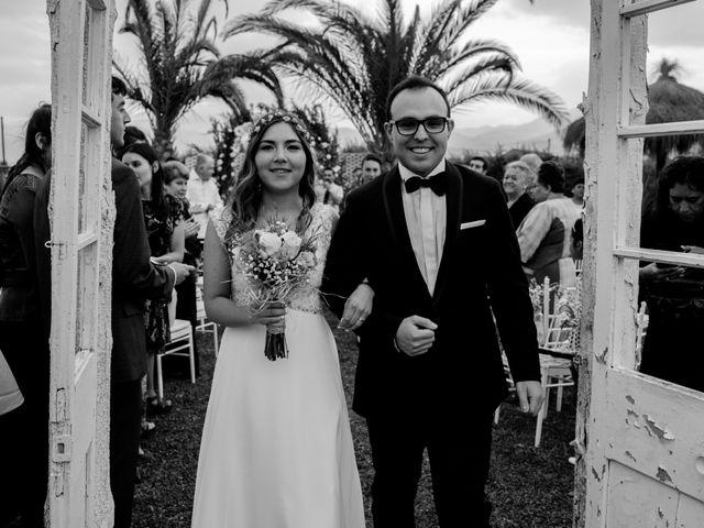 El matrimonio de Consuelo y Marco