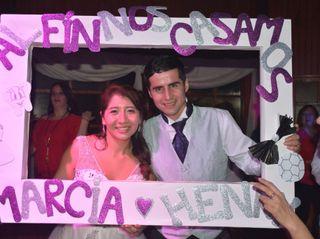 El matrimonio de Marcia y Henry