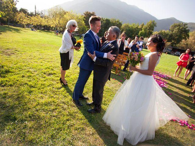 El matrimonio de Nathanael y Carola en San José de Maipo, Cordillera 2