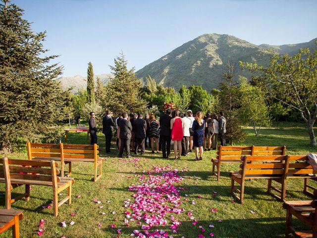 El matrimonio de Nathanael y Carola en San José de Maipo, Cordillera 3