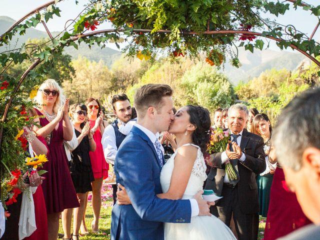 El matrimonio de Nathanael y Carola en San José de Maipo, Cordillera 4