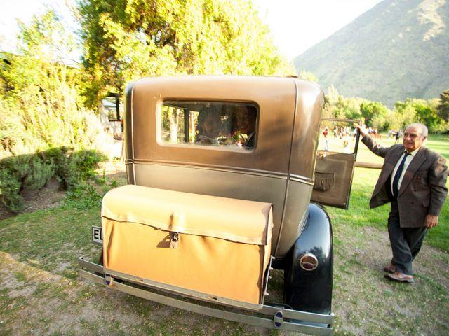 El matrimonio de Nathanael y Carola en San José de Maipo, Cordillera 5