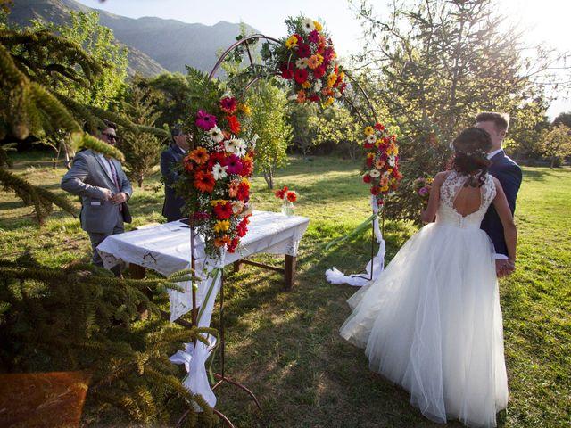 El matrimonio de Nathanael y Carola en San José de Maipo, Cordillera 7
