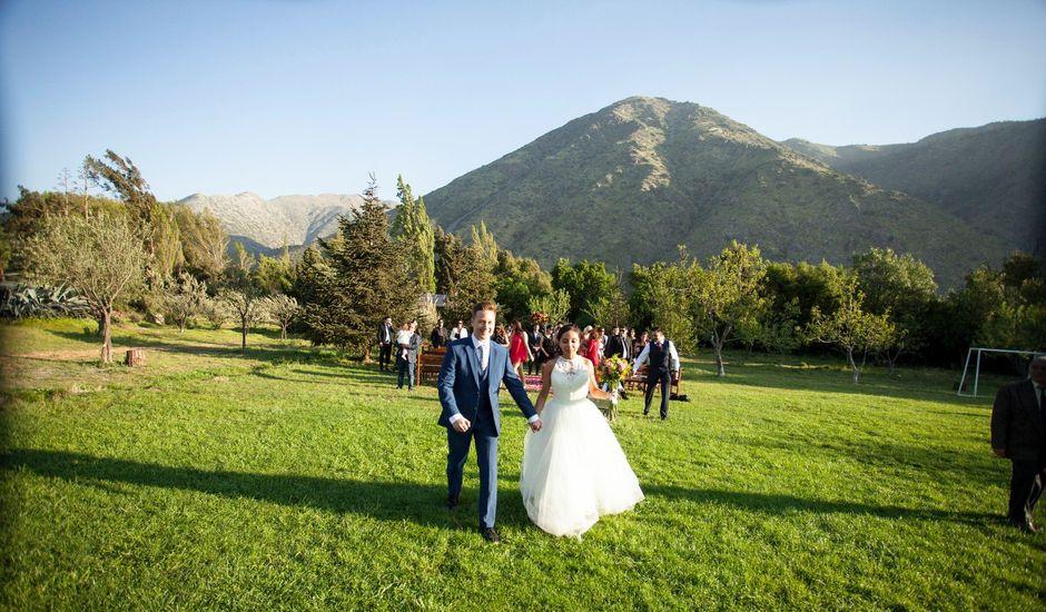 El matrimonio de Nathanael y Carola en San José de Maipo, Cordillera