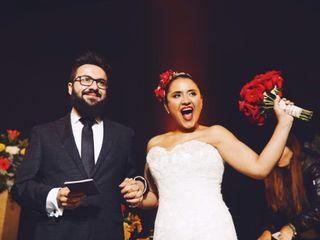 El matrimonio de Pamela y Carlos