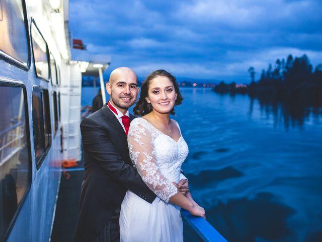 El matrimonio de Belén y Pedro