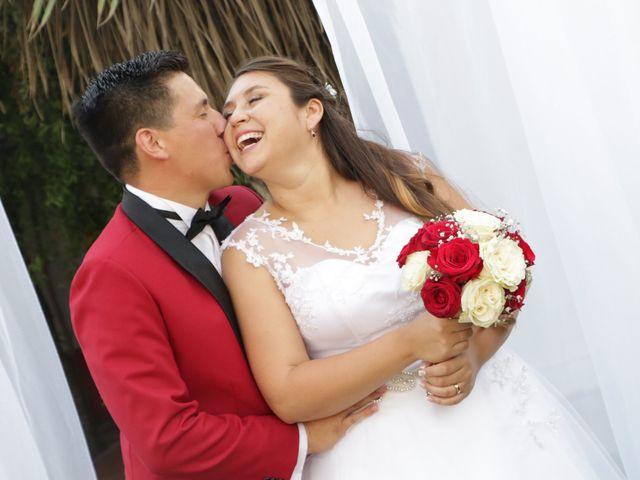 El matrimonio de Michel y Braulio