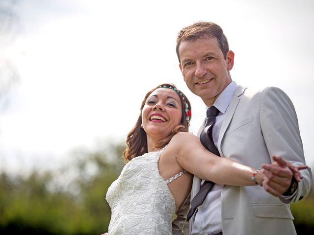 El matrimonio de Verónica y Hernán