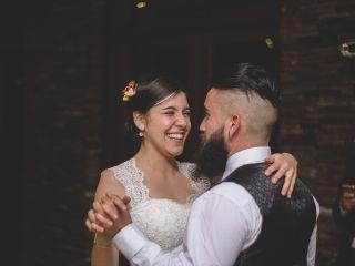 El matrimonio de Bárbara y Rony