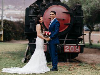 El matrimonio de Mailing y Raúl