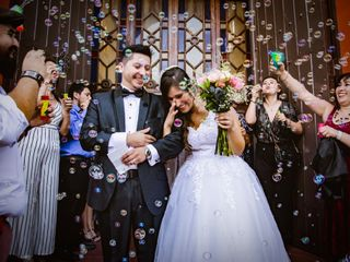 El matrimonio de Sherezada y Rodrigo