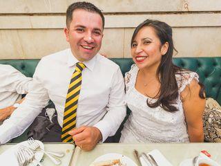 El matrimonio de Cynthia y Sebastián 1