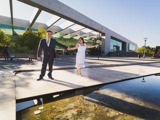 El matrimonio de Cynthia y Sebastián