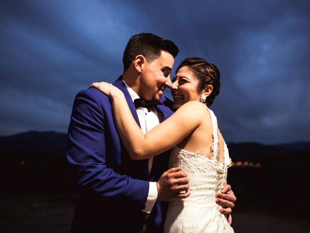 El matrimonio de Romina y Mario