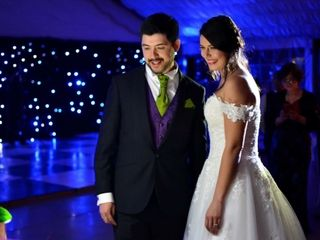 El matrimonio de Daniela y bani