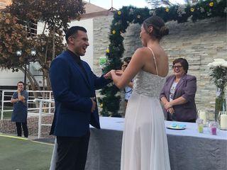 El matrimonio de Johana y Patricio