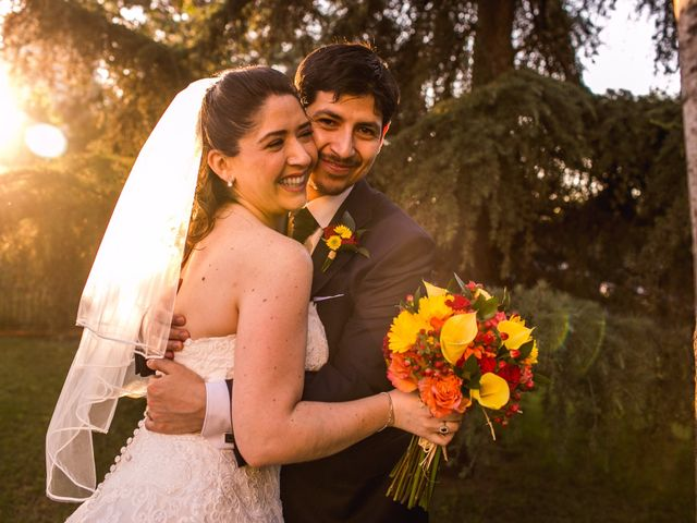 El matrimonio de Pamela y Marcelo