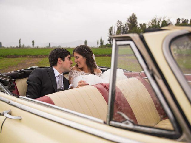 El matrimonio de Nicolás y Sofía en Calera de Tango, Maipo 17