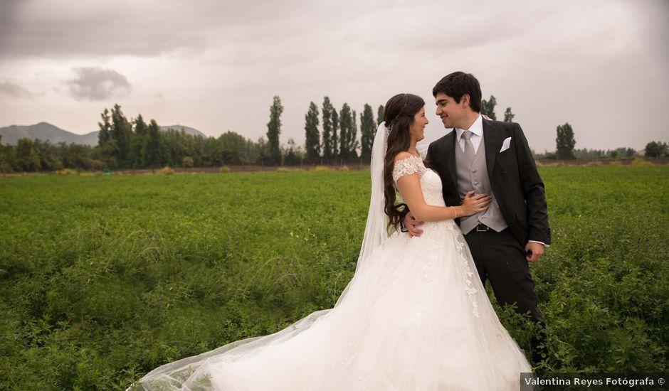 El matrimonio de Nicolás y Sofía en Calera de Tango, Maipo