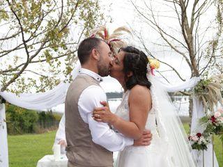 El matrimonio de Jessica  y Pedro