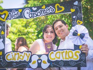El matrimonio de Cindy y Carlos  3