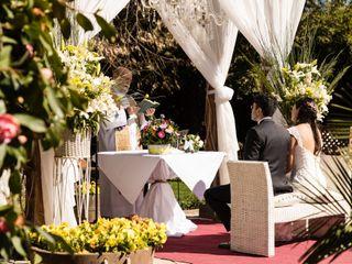 El matrimonio de Elizabeth y Lorenzo