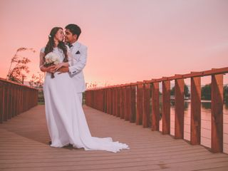 El matrimonio de Jesennia y Josué