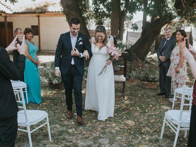 El matrimonio de Daniel y Valentina en Calera de Tango, Maipo 6