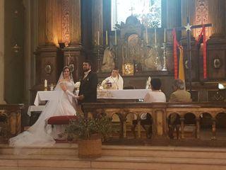 El matrimonio de Mauricio y María Paz