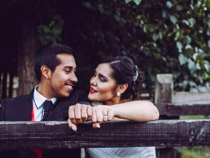 El matrimonio de Katherine y José