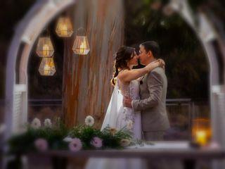 El matrimonio de Evelyn y Cristian