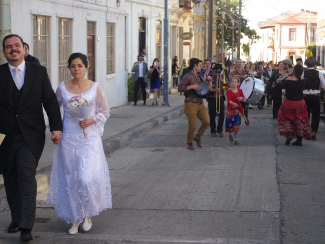 El matrimonio de Alvaro y Montserrat en Valparaíso, Valparaíso 9