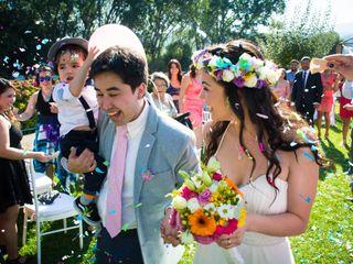 El matrimonio de Makarenna y Luciano